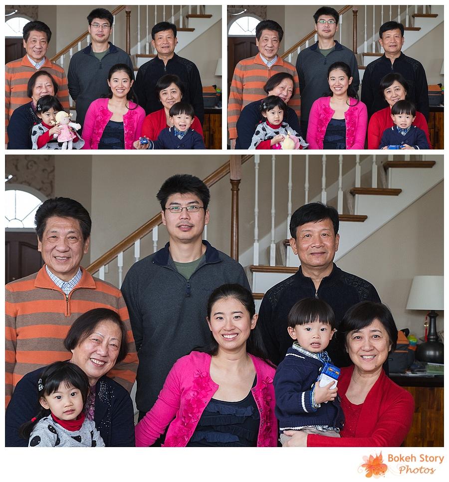 2013 Christmas Eve Family Photos