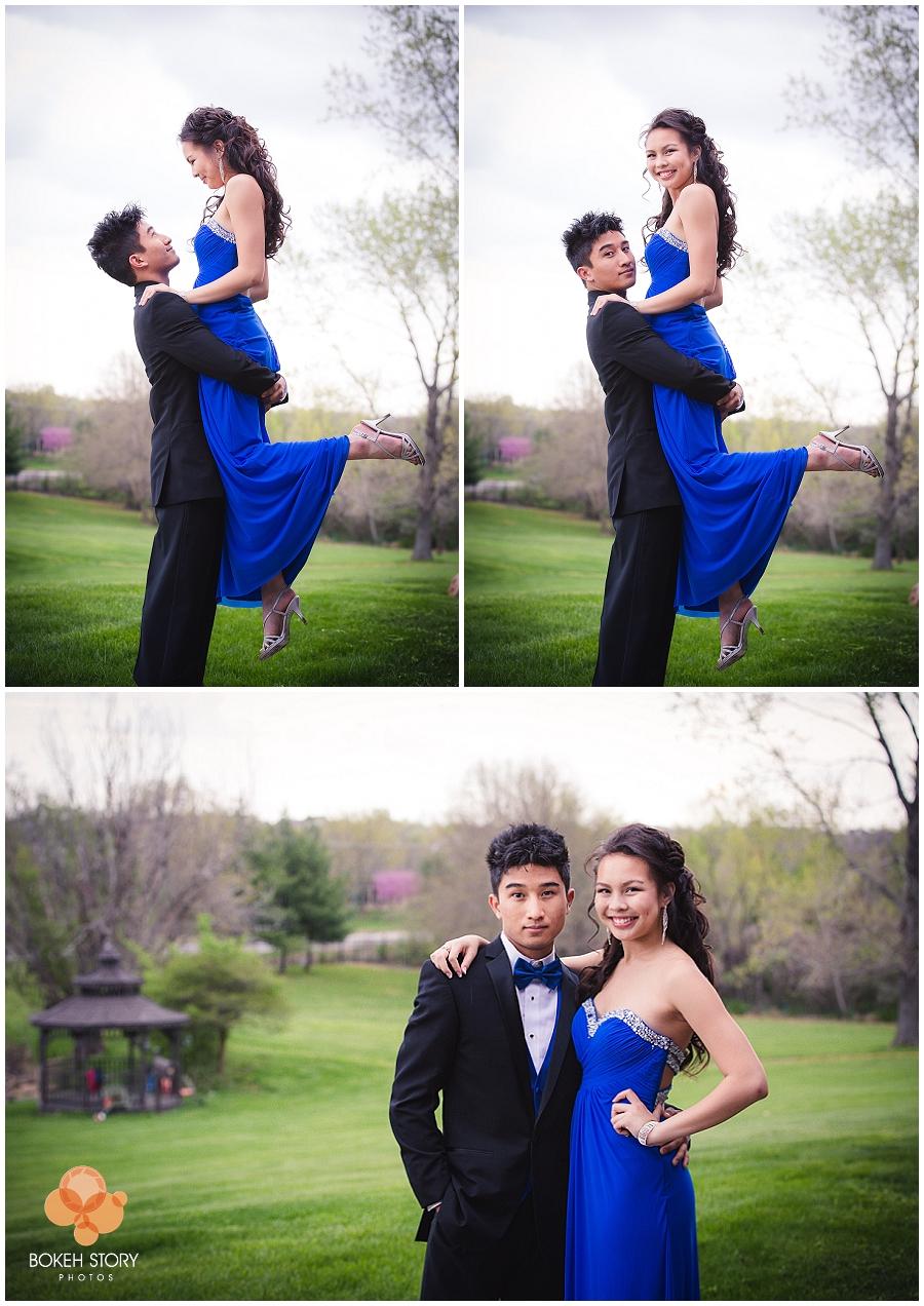 First Prom First Love | Kansas City Prom PhotographerBokeh Story Photos